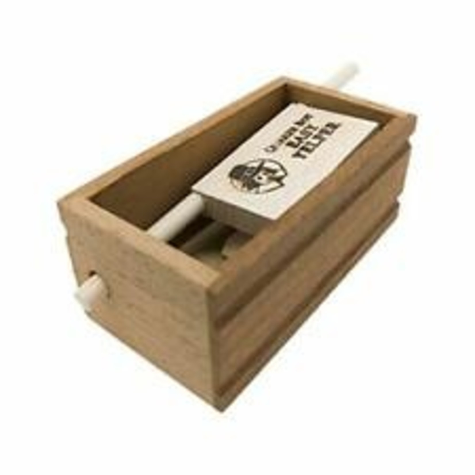 Quaker Boy 13604 Easy Yelper Push Button Turkey Box/Friction Call