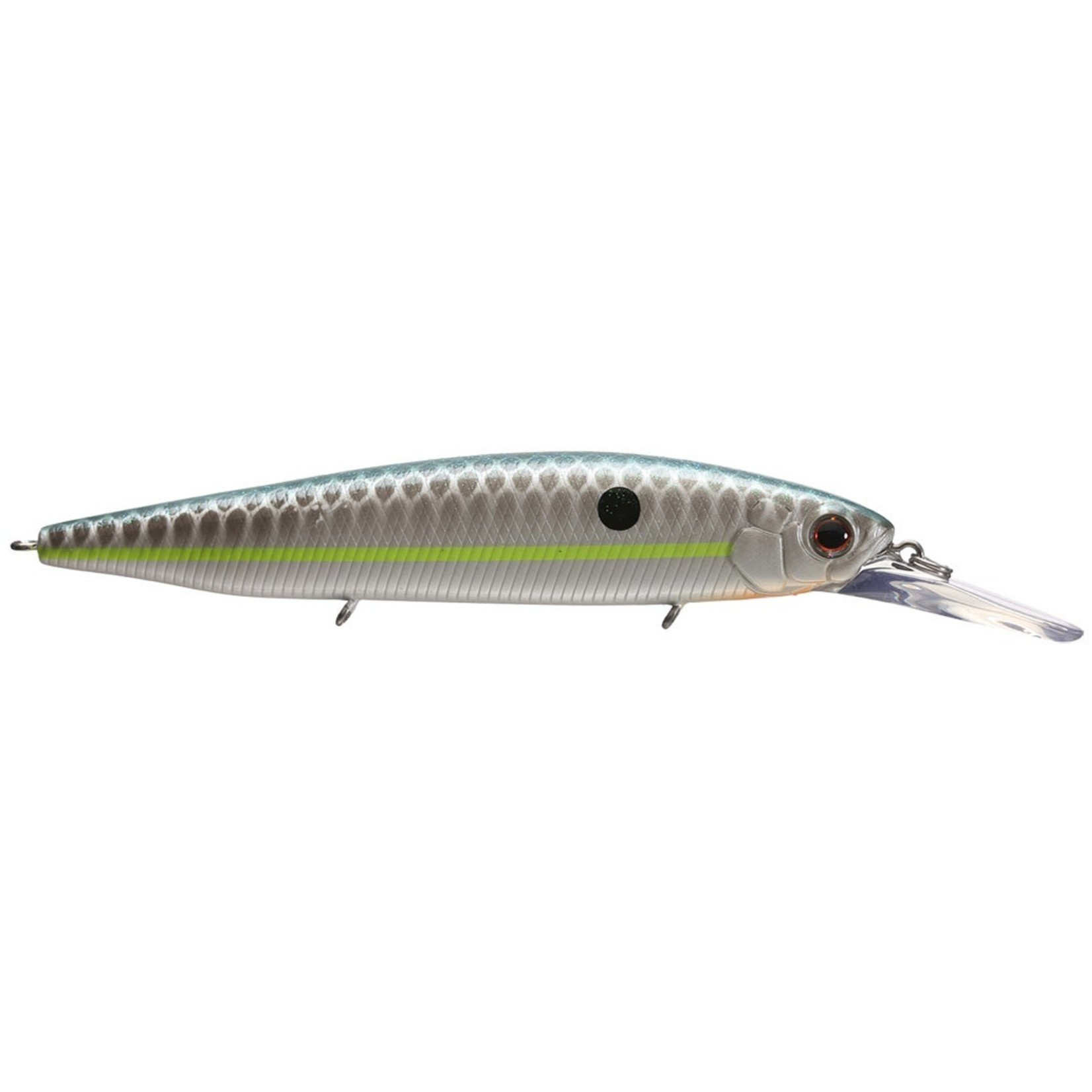 "Ever Green 1/2"",  5/8 oz Suspending Ever Green Jerk Bait"