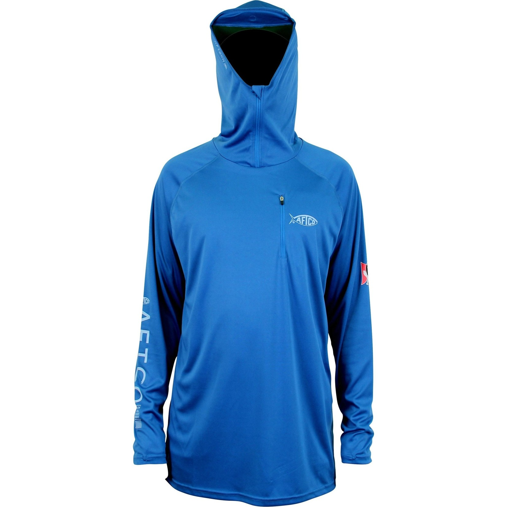 AFTCO Jason Christie Hooded LS Performance Shirt