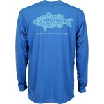 AFTCO Rough Metal Long Sleeve Performance Shirt