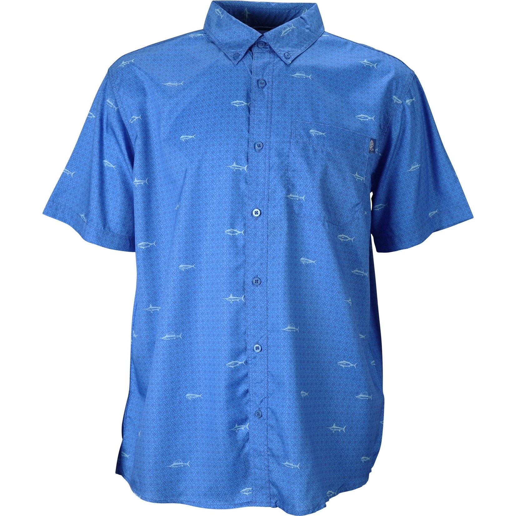 AFTCO SIDECASTER SS BUTTON DOWN SHIRT