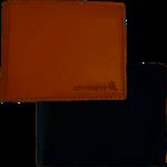 Rough Cut Bi-Fold Wallet Tan