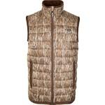 Drake Men's LST Camo Double Down Layering Vests