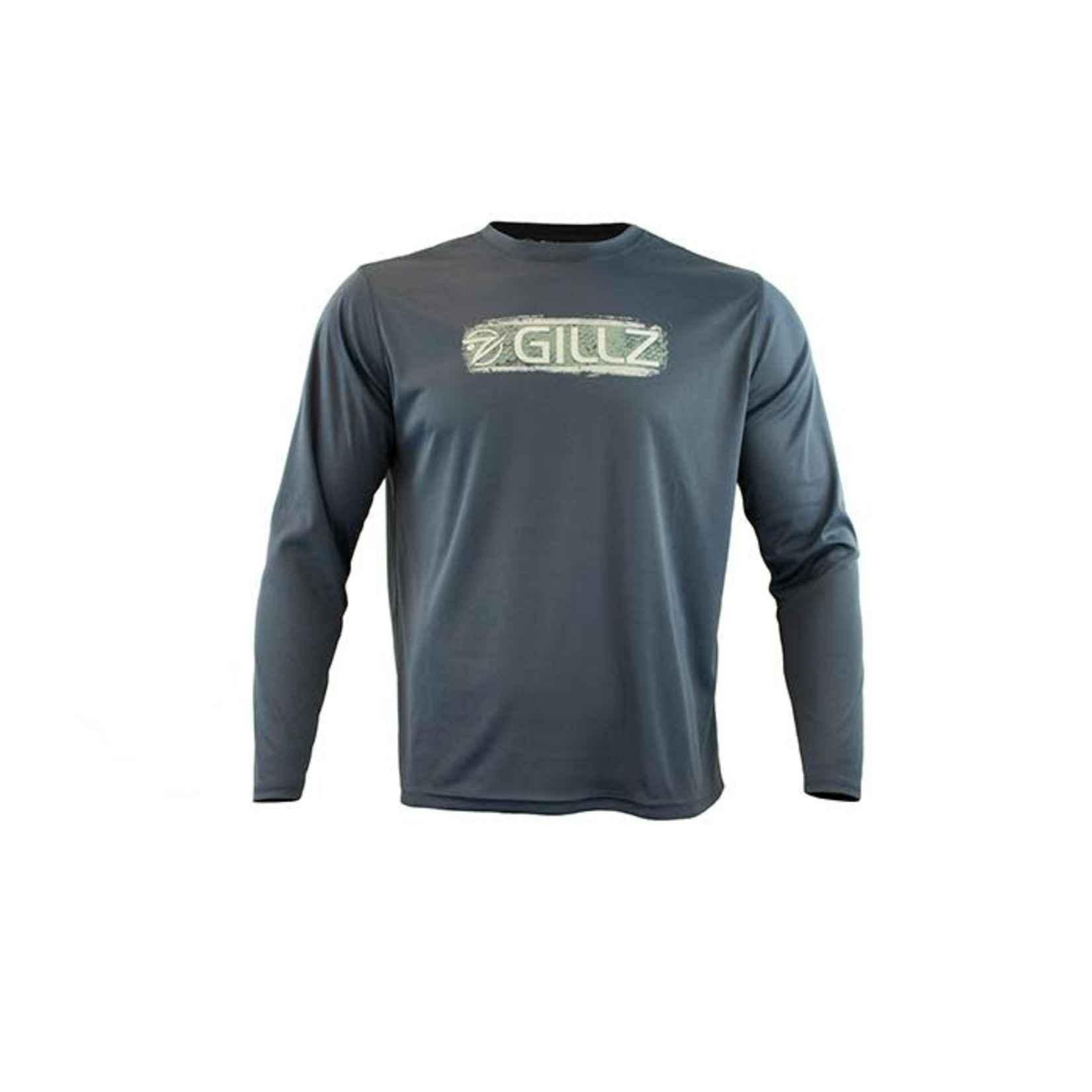 "GILLZ MEN'S LONG SLEEVE UV ""GRUNGE SCALE STRIPE"""