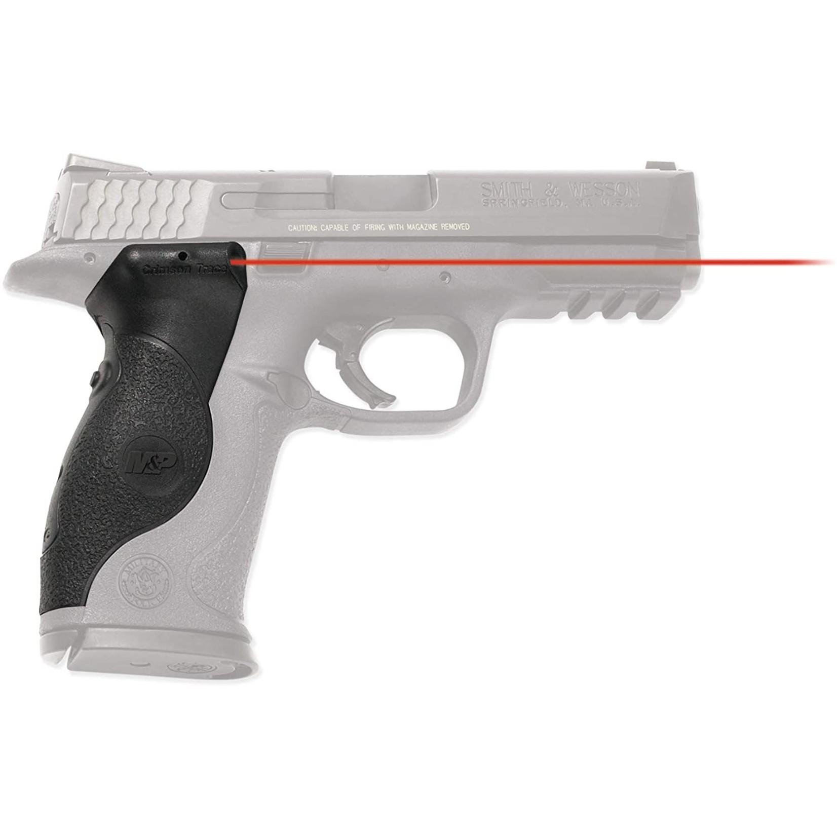 Crimson Trace LG-660 Lasergrips Laser Sight, Blk, Pressure Sensor