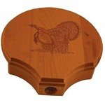 "Quaker Boy 80102 Turkey Fan Mount Lasered ""Gobblin Boss"", Solid"