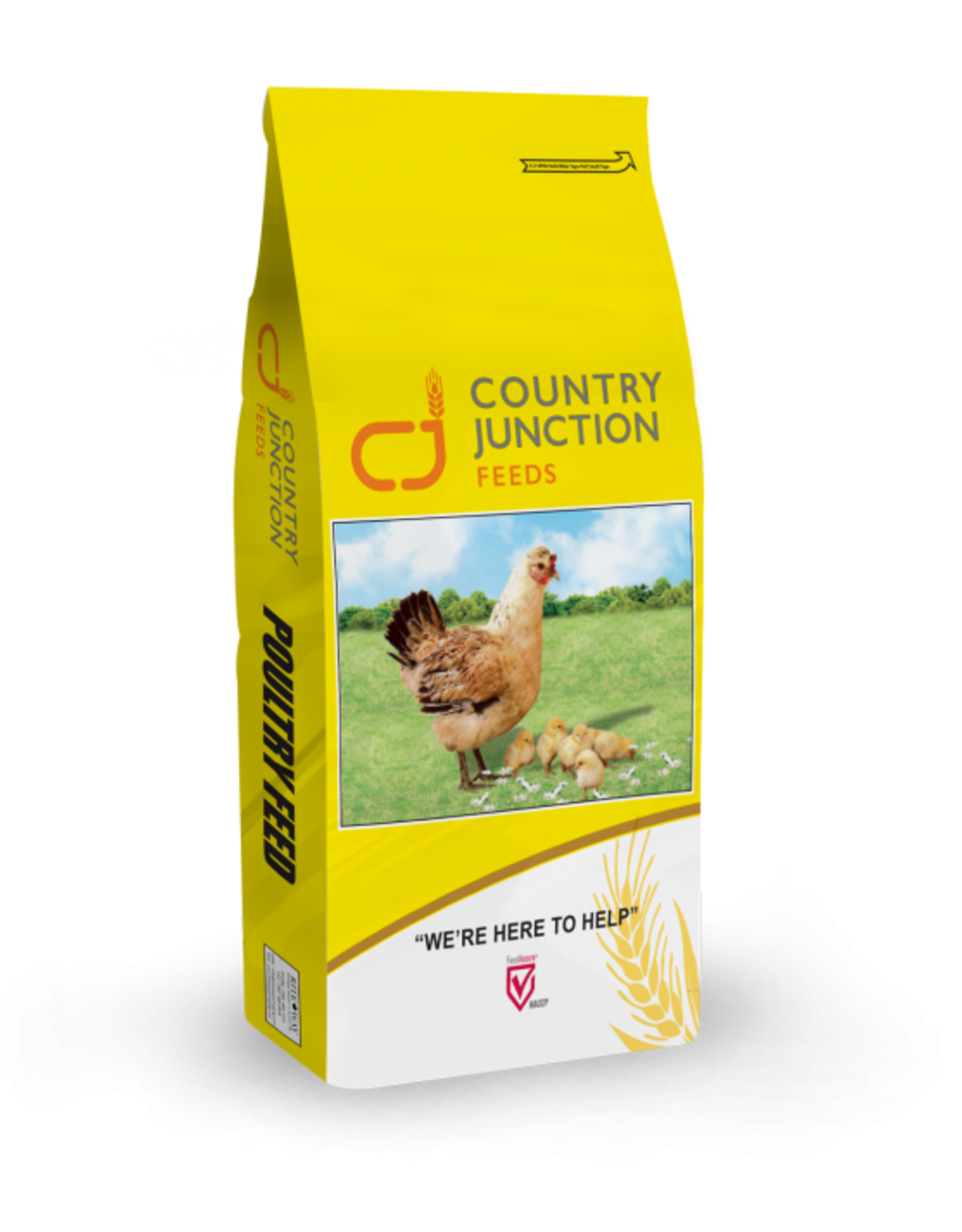 Country Junction Feeds 16% Poultry Grower 20kg