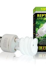 EXO-TERRA Exo Terra Repti-Glo 5.0, Tropical Terrarium Lamp, Compact Fluorescent, 13W