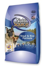 NUTRISOURCE NUTRISOURCE Trout & Brown Rice 5 lb