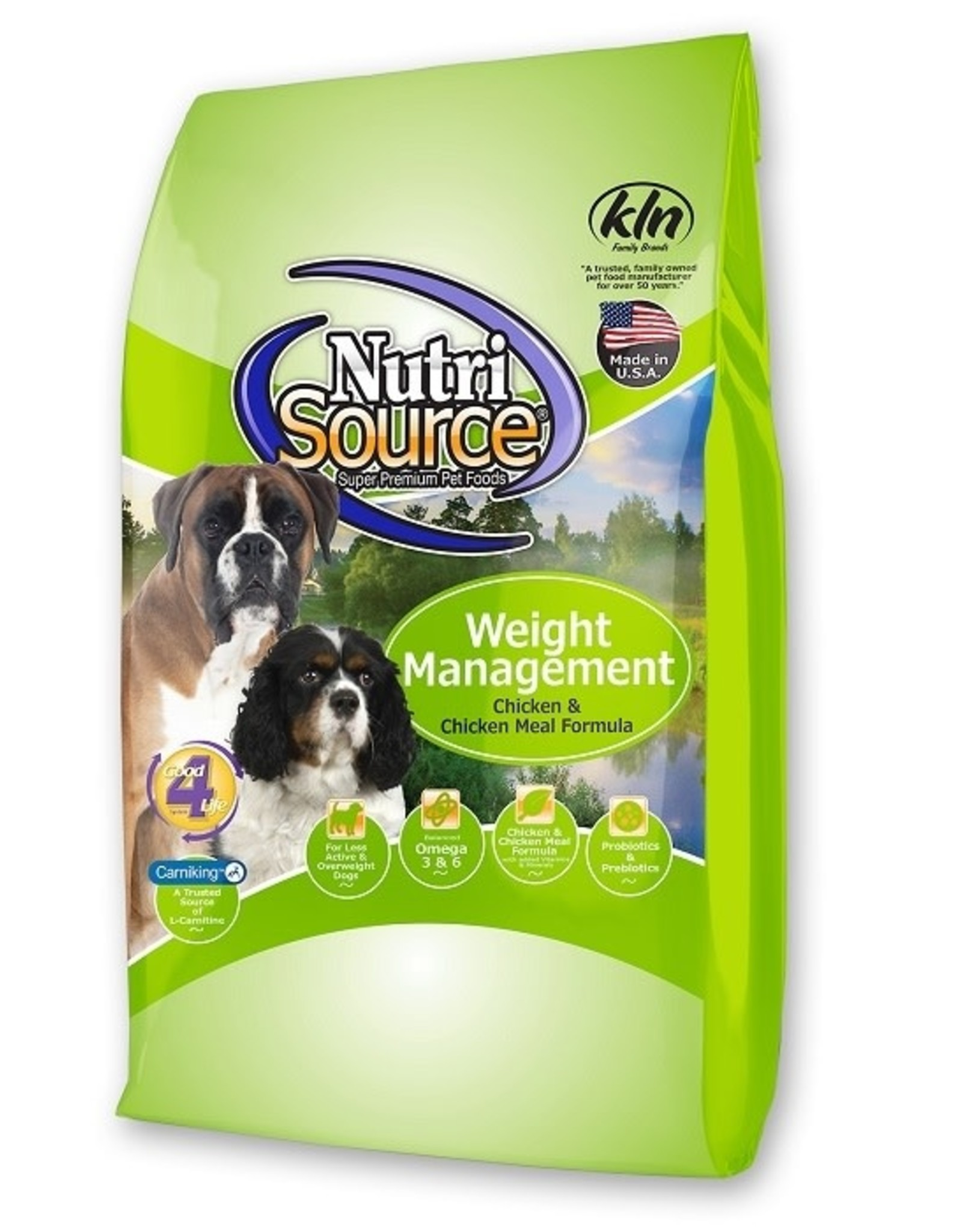 NUTRISOURCE NUTRISOURCE Weight Management Chicken & Rice 30lb