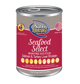 NUTRISOURCE NUTRISOURCE GF Seafood Select Can 13oz