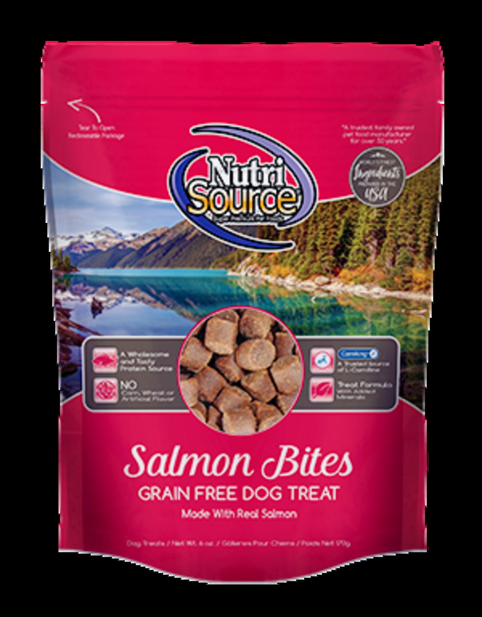 NUTRISOURCE NutriSourDog Treat GF Salmon 6 oz