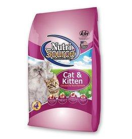 NUTRISOURCE NURTISOURCE CAT & Kitten Chicken & Rice 6.6 lb