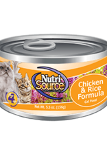 NUTRISOURCE NUTRISOURCE CAT CAN Chicken & Rice 5oz
