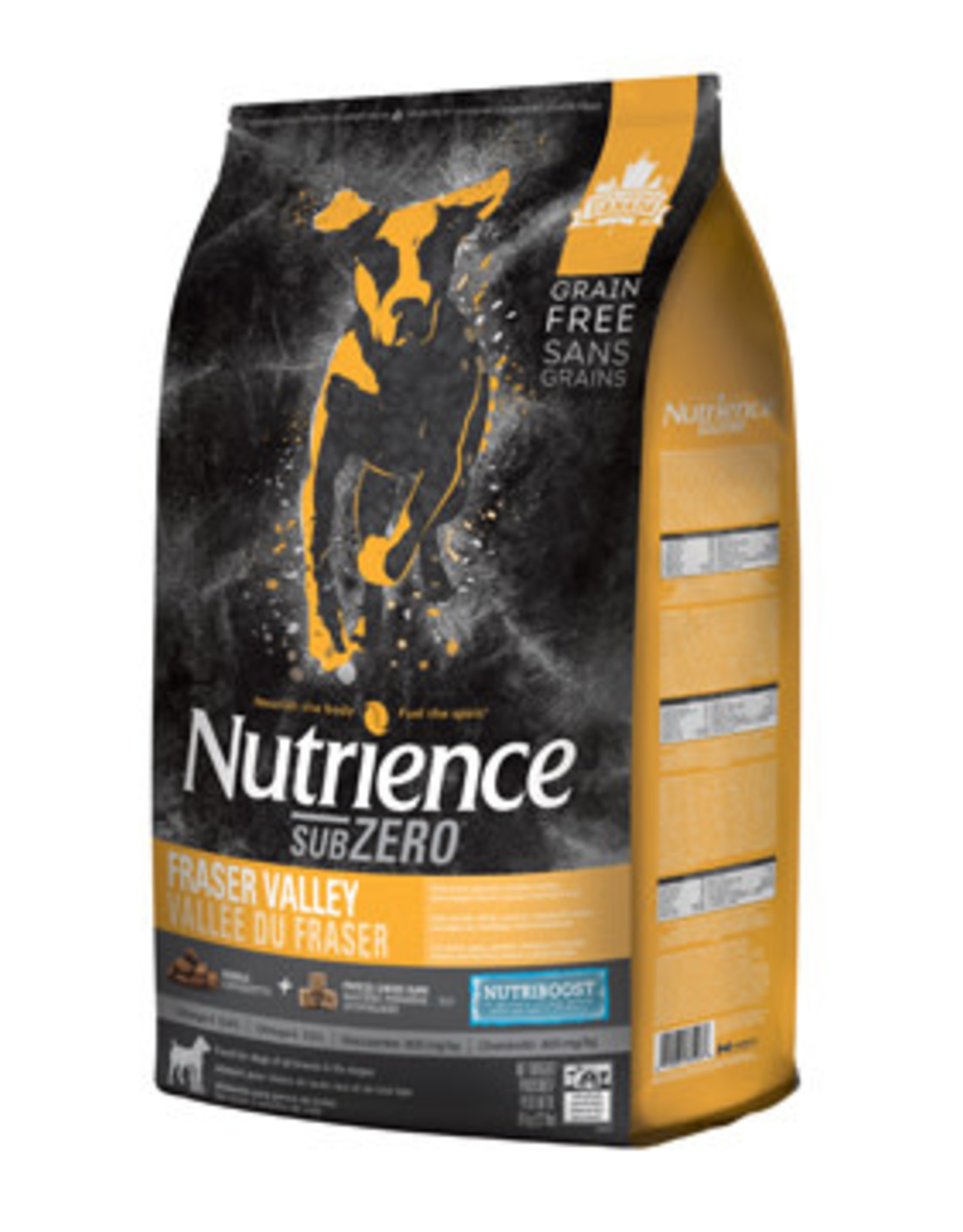 NUTRIENCE Nutrience Grain Free Subzero for Dogs - Fraser Valley - 10 kg (22 lbs)