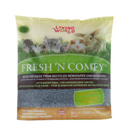 LIVING WORLD Living World Fresh 'N Comfy Bedding - 50 L (3050 cu in) - Blue