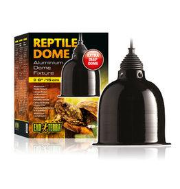EXO-TERRA Exo Terra Reptile Aluminum Dome Fixture, Small, 15 cm (6in)
