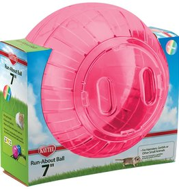 KAYTEE PRODUCTS INC RUN-ABOUT BALL RAINBOW  7