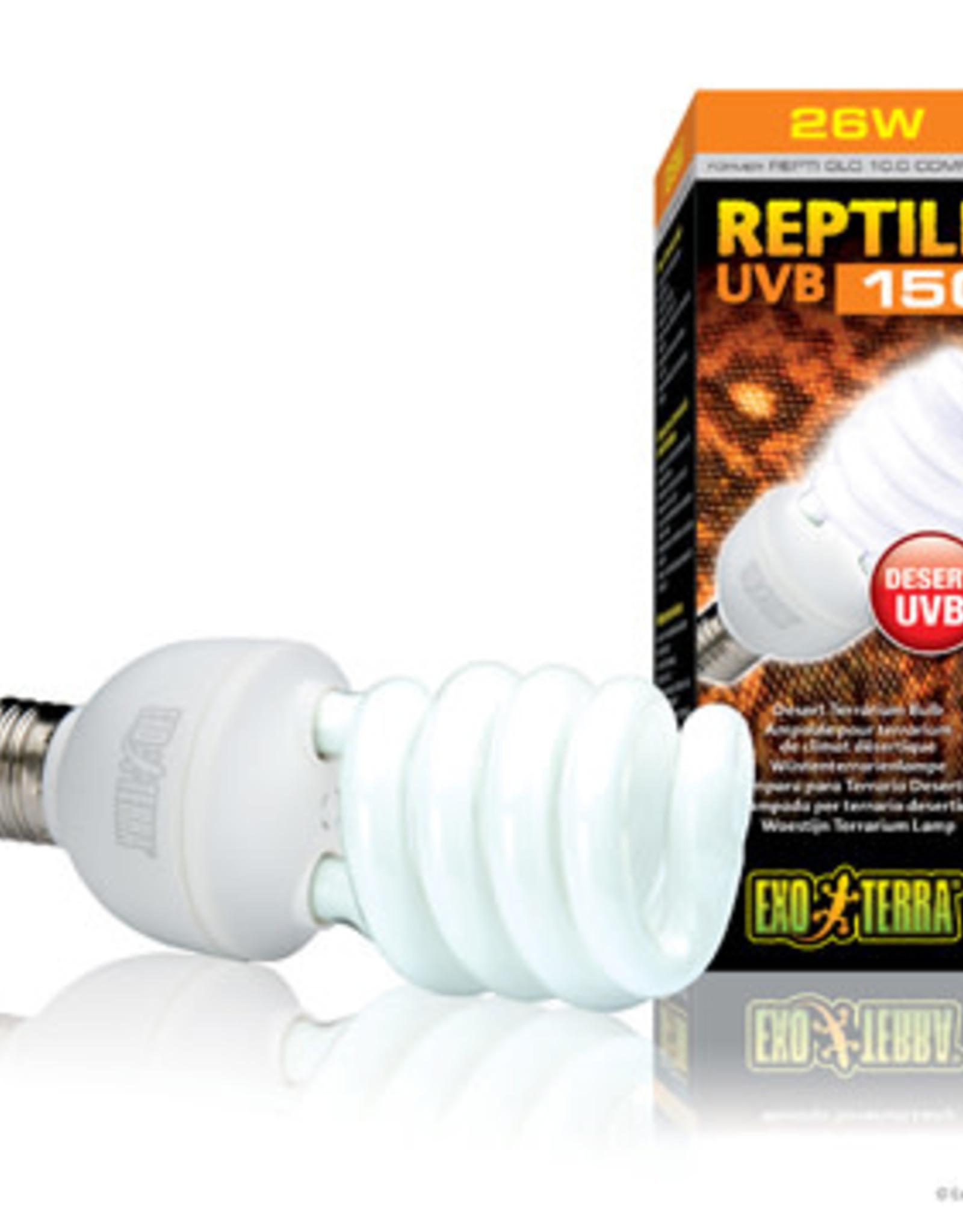 EXO-TERRA Exo Terra Reptile UVB150 - 26 W