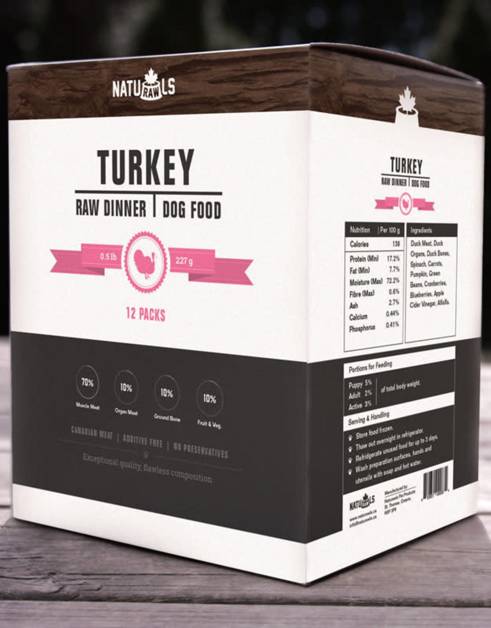 Naturawls Naturawls Raw Turkey