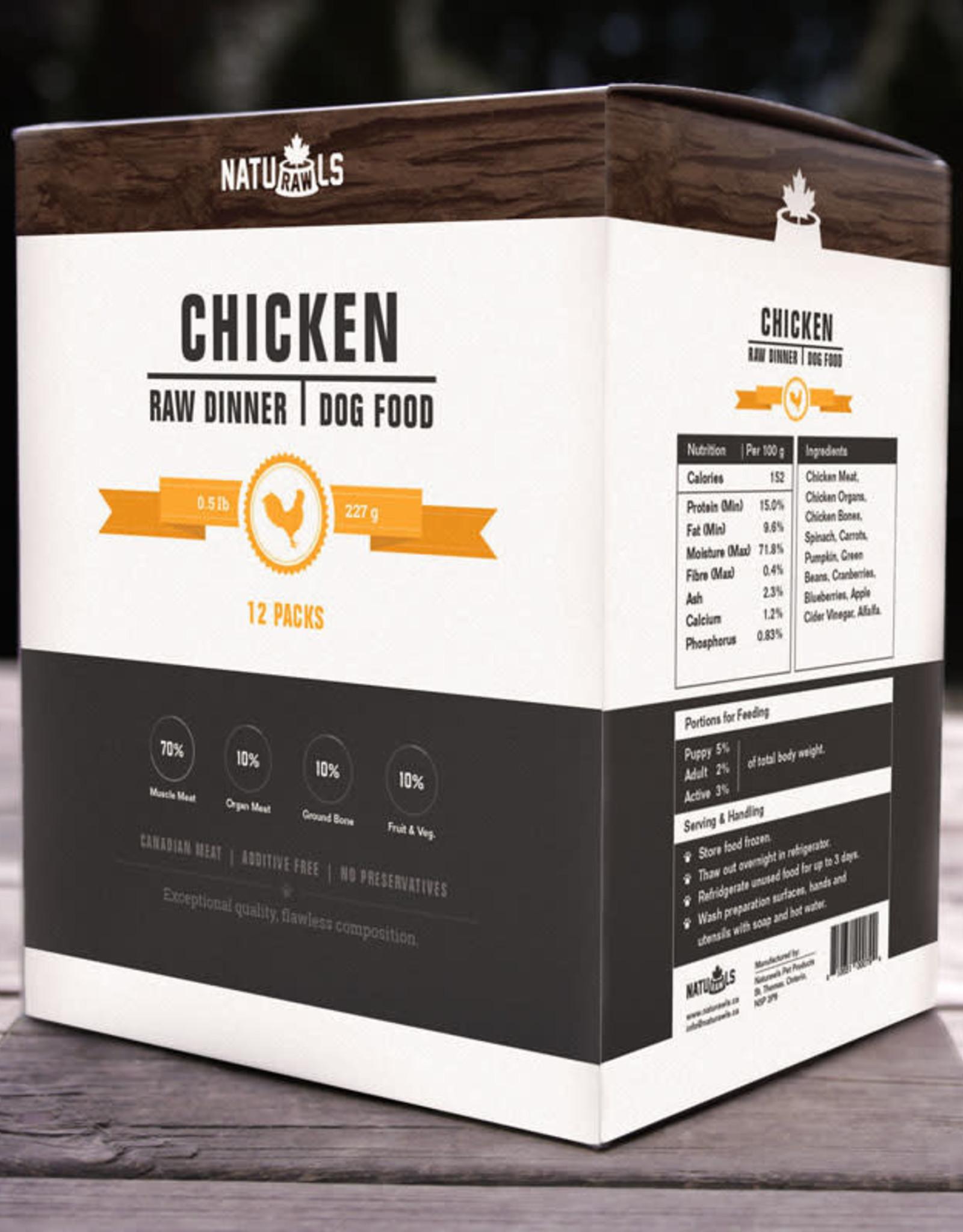 Naturawls Naturawls Raw Chicken