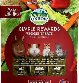 OXBOW ANIMAL HEALTH OX SIMPLE REWARD VEGGIE 3 oz
