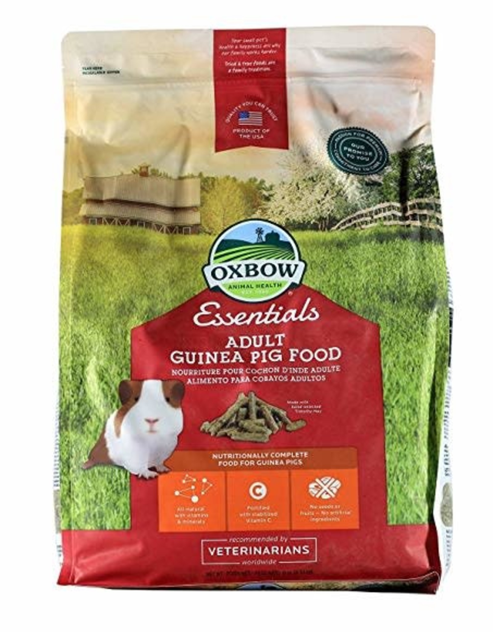 OXBOW ANIMAL HEALTH Essentials- Adult Guinea Pig Food