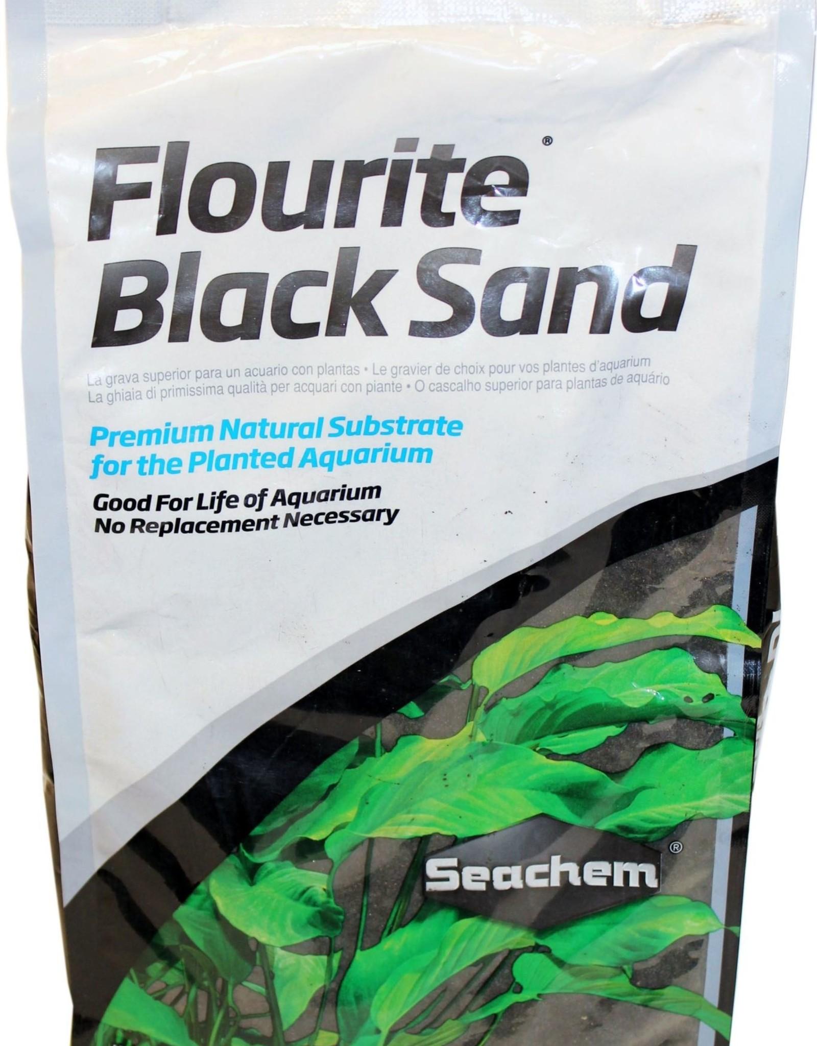 SEACHEM LABORATORIES FLOURITE BLACK SAND 7.7# (4)