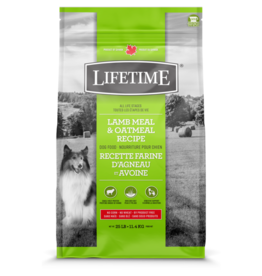 Lifetime LIFETIME DOG LAMB & OATMEAL 11.4kg