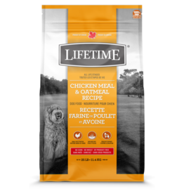 Lifetime LIFETIME DOG Chicken & Oatmeal  11.4kg