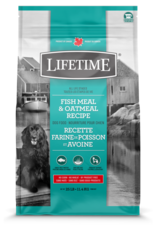 Lifetime LIFETIME DOG FISH Meal & Oatmeal  11.4kg
