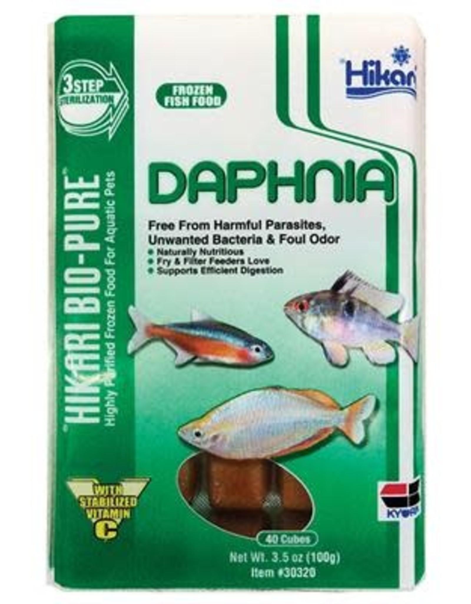 HIKARI USA INC. Frozen - Daphnia 3.5OZ Cube
