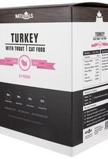 Naturawls Naturawls Raw Turkey & Trout 24/113GM Cat