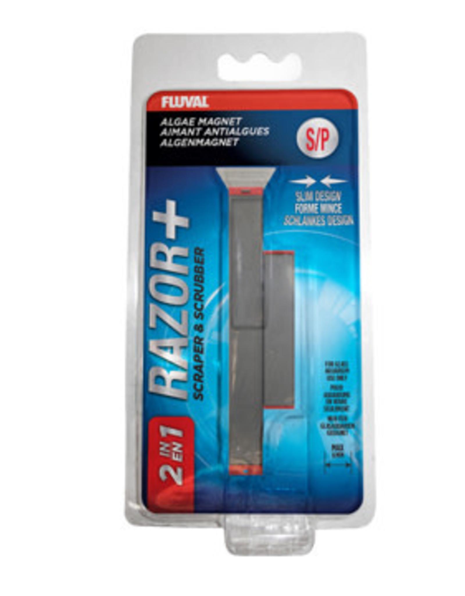 Fluval Fluval Razor+ 2-in-1 Algae Magnet - Small