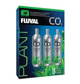 Fluval Fluval 95 g CO2 Disposable CO2 Cartridges - 3 pack