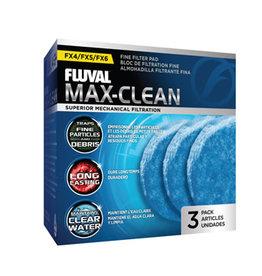 Fluval Fluval Max-Clean Fine Filter Pads - 3 pack
