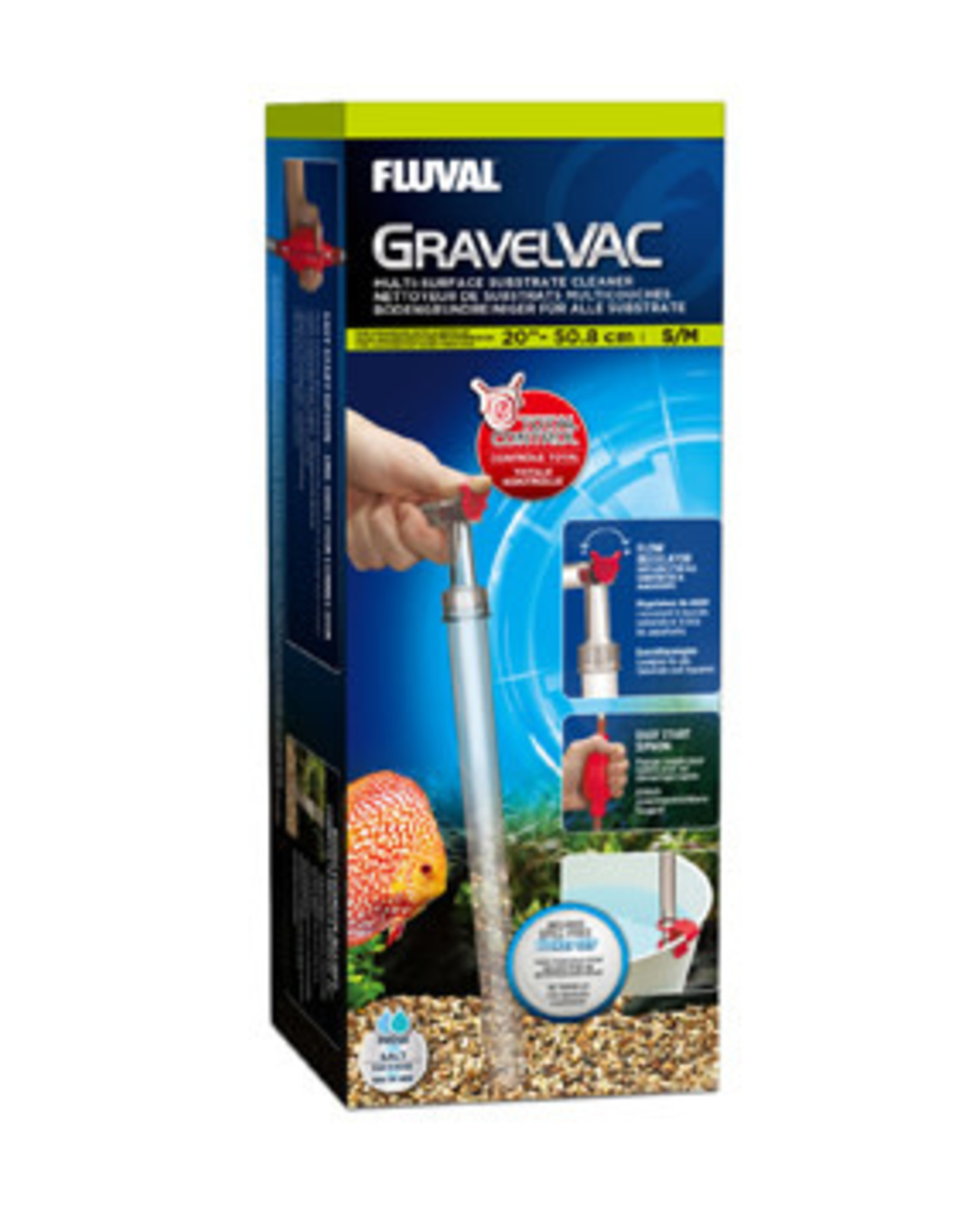 Fluval Fluval Gravel Vac Substrate Cleaner - Small/Medium