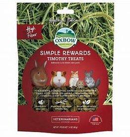 OXBOW ANIMAL HEALTH OXBOW SIMPLE REWARDS-TIMOTHY TREAT 1.4oz