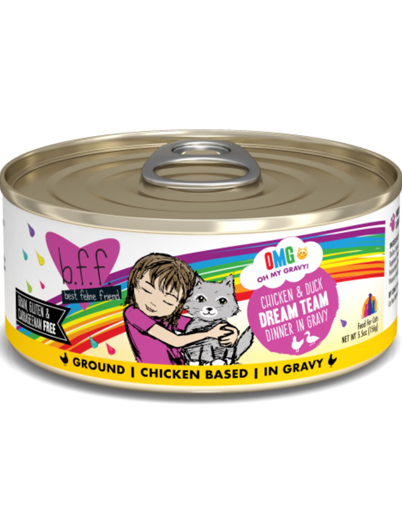 Weruva BFF OMG Chicken & Duck Dream Team 5.5 oz