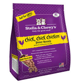 Stella & chewy's Stella & Chewy's Frozen Cat Chicken Morsels 1.25LB