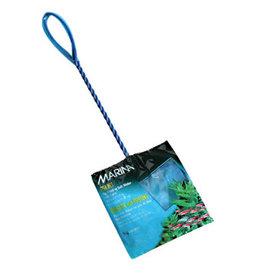 """MARINA Marina 4"""" Blue Fine Nylon Net w/10"""" Handle"""