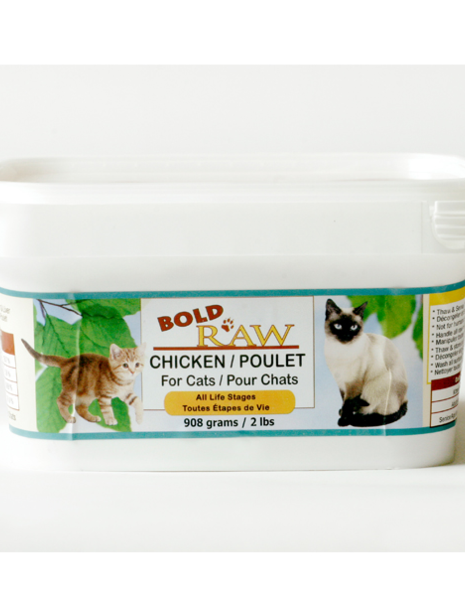 Bold Raw Bold Raw Cat Chicken Tub 2 lb