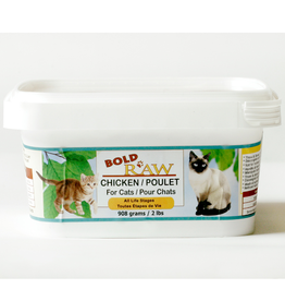 Bold Raw Bold Raw Cat Chicken Tub 2 lb