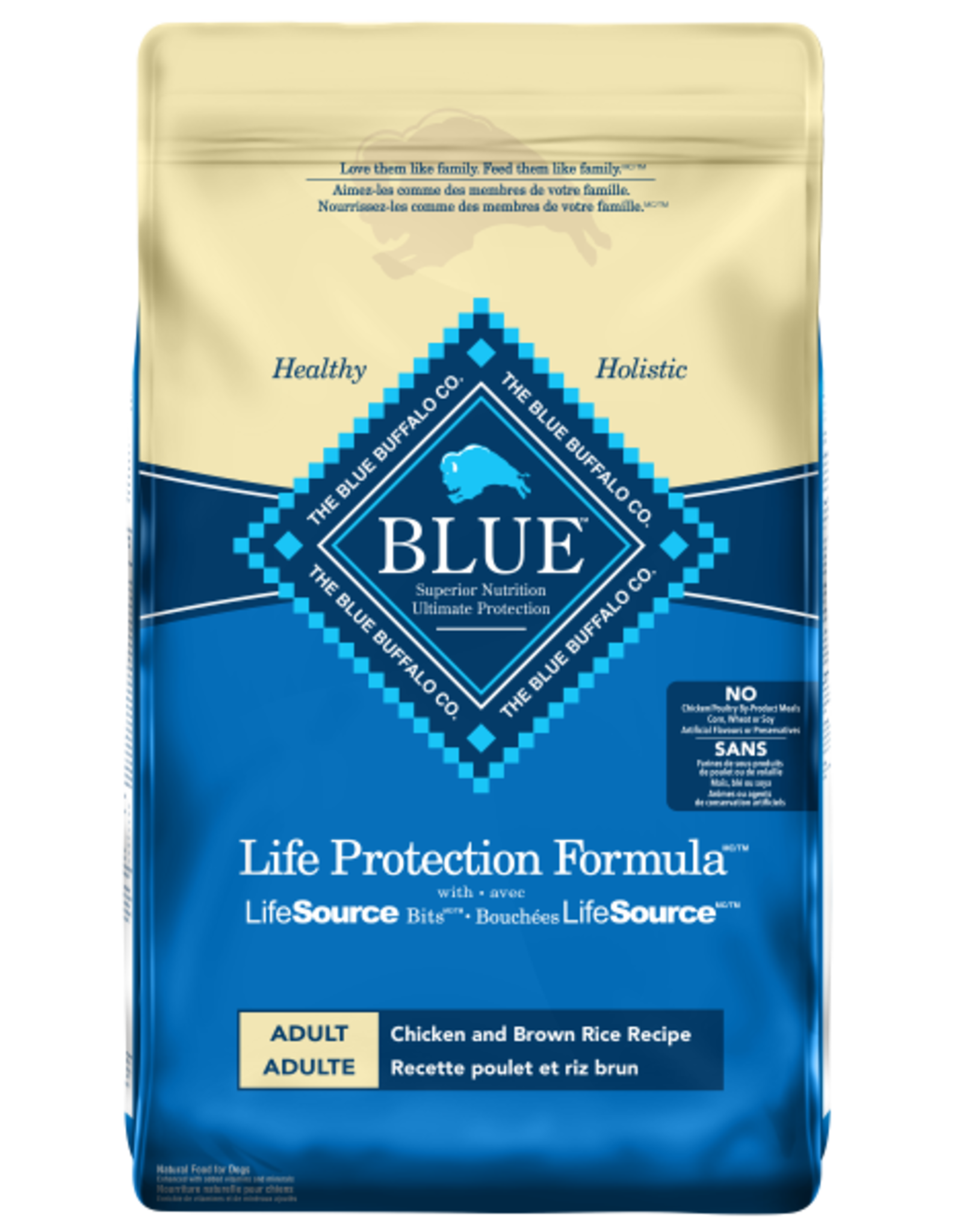 BLUE BUFFALO Blue Buffalo Chicken and Brown Rice