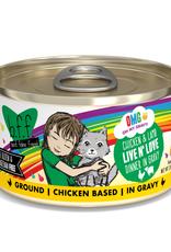 Weruva BFF OMG Chicken & Lamb Live N' Love 2.8 oz