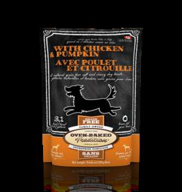 Oven-Baked Tradition Oven-Baked Tradition Dog GF Treat Chicken/Pumpkin 8 oz