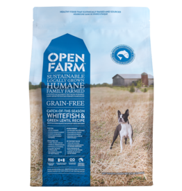 Open Farm Open Farm Dog Dry GF Whitefish & Lentil Catch of the Season 24lb