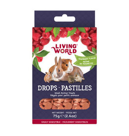 LIVING WORLD Living World Small Animal Drops - Raspberry Flavour - 75 g (2.6 oz)