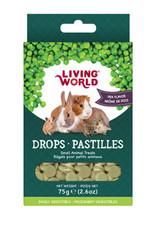 LIVING WORLD Living World Small Animal Drops - Pea Flavour - 75 g (2.6 oz)