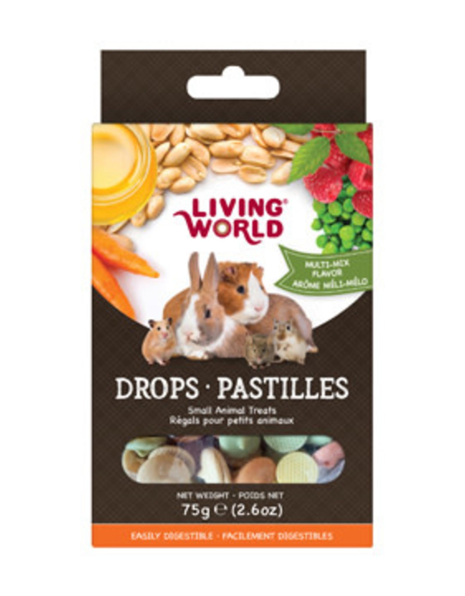 LIVING WORLD Living World Small Animal Drops - Multi-Mix Flavour - 75 g (2.6 oz)